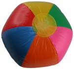 6 sided beachball Bev Dunbar Maths Matters