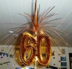 60 party decoration Bev Dunbar Maths Matters