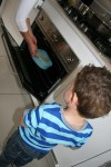 7 Joey watches cake go into the oven Bev Dunbar Maths Matters