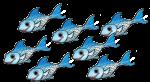 7 blue fish John Duffield