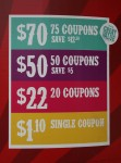 $70 for 75 coupons at the Show Bev Dunbar Maths Matters