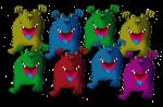 8 monsters John Duffield