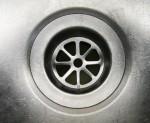 8 sided kitchen drain - eighths - fractions - Bev Dunbar Maths Matters