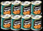 8 tins Baked Beans John Duffield