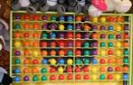 8 x 14 balloon game array at the Show Bev Dunbar Maths Matters