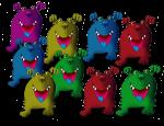 9 monsters John Duffield
