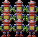 9 robots Bev Dunbar Maths Matters