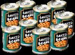 9 tins Baked Beans John Duffield