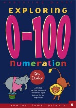 Exploring 0-100 Numeration Exploring Maths Front Cover