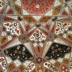 ANGLES Ceiling Pattern Rajasthan India Bev Dunbar Maths Matters