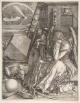 Albrecht Durer Melancholia (with magic square) The Met NY DP815742