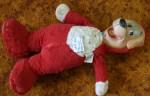 Antique 1951 fluffy dog toy $145 Bev Dunbar Maths Matters