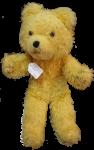 Antique Yellow Teddy Bear $28 Bev Dunbar Maths Matters