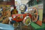 Antique tin toy tractor $199 Bev Dunbar Maths Matters