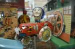 Antique tin toy tractor $199 Bev Dunbar Maths Matters
