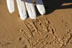 Area of your Handprint Bev Dunbar Maths Matters