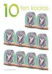 10 koalas Poster John Duffield duffield-design