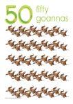 50 goannas Poster John Duffield duffield-design