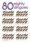 80 dingoes Poster John Duffield duffield-design