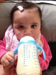 Baby Elle drinks 210 mL of warm milk Bev Dunbar Maths Matters