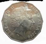 Back 50 cents coin Bev Dunbar Maths Matters