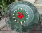 Bali circular flower bowl Bev Dunbar Maths Matters