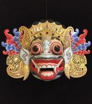 Balinese symmetrical mask 3 Bev Dunbar Maths Matters