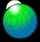 Ball greenblue - John Duffield duffield-design