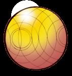Ball orange - John Duffield duffield-design