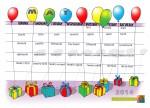 Balloon calendar - May - John Duffield duffield-design