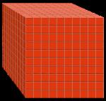 Volume 1000 cubes - John Duffield duffield-design