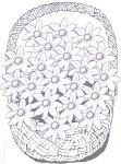 Basket of flowers B&W - John Duffield duffield-design