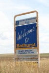 Bathurst 670.27 m above sea level Sign Bev Dunbar Maths Matters