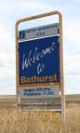 Bathurst 670.27 m above sea level Sign Bev Dunbar Maths Matters