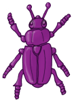 Beetle - Purple - John Duffield duffield-design