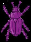 Beetle - Purple - John Duffield duffield-design
