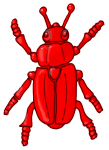 Beetle - Red - John Duffield duffield-design