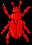 Beetle - Red - John Duffield duffield-design