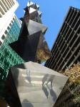 Bert Flugelman Octahedron Sculpture Sydney Bev Dunbar Maths Matters