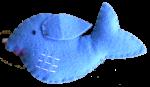 Bev Dunbar Maths Matters Blue Felt Whale IMG_1407