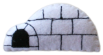 Bev Dunbar Maths Matters Isolated Felt Igloo