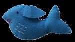 Isolated Felt Whale Bev Dunbar Maths Matters