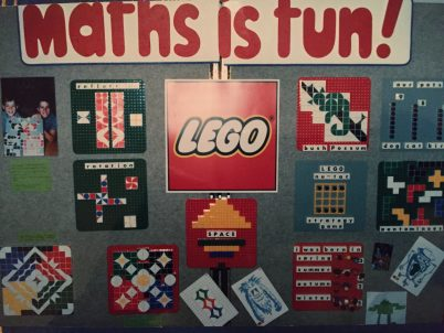 bev-dunbar-mathsdisplay-at-lego-centre