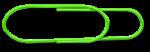 Big Paper Clip - Green - John Duffield duffield-design