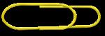 Big Paper Clip - Yellow - John Duffield duffield-design