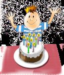 Birthday Party Cake - John Duffield duffield-design