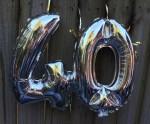 Birthday balloon 40 Bev Dunbar Maths Matters