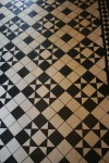Black White Mosaic Floor Tile Pattern Bev Dunbar Maths Matters