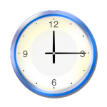 Blue Clock - John Duffield duffield-design