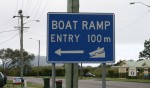 Boat ramp 100 m on left Bev Dunbar Maths Matters